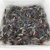 Vintage Lot of Approx 900 Various Brands Wire Wound Ceramic Resistors 1-10 Watt