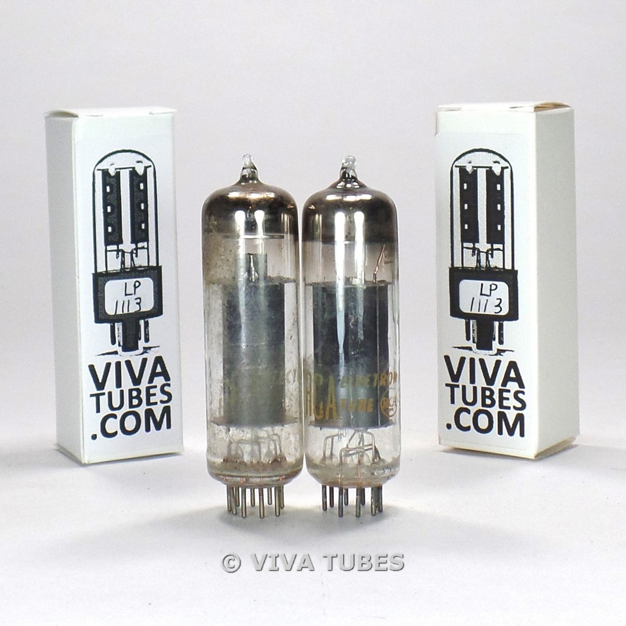 Sylvania EL84 6BQ5 Black Plate Vacuum Tube 3 Available