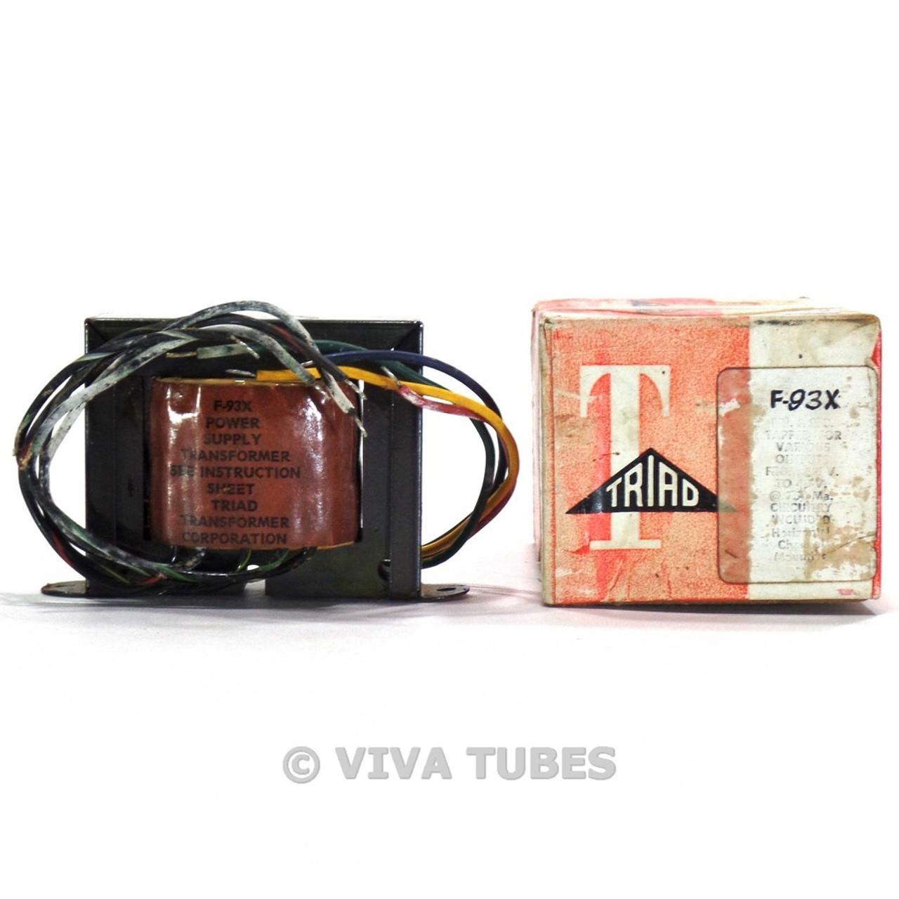 NOS//NIB Triad F-45X Filament Transformer 24VCT @ 1A Free Shipping