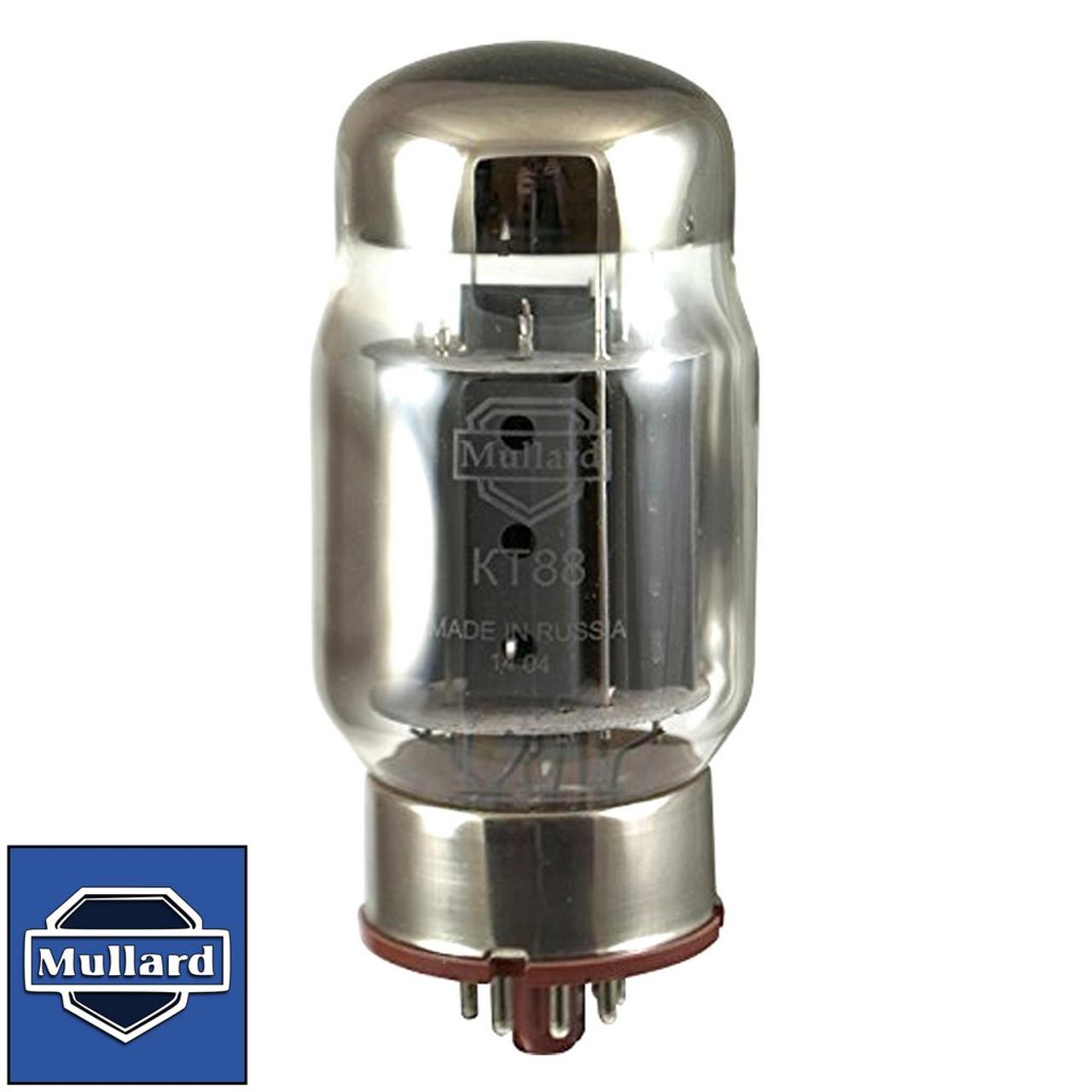 Brand New Plate Current Tested Mullard Reissue KT88 / 6550 Vacuum Tube