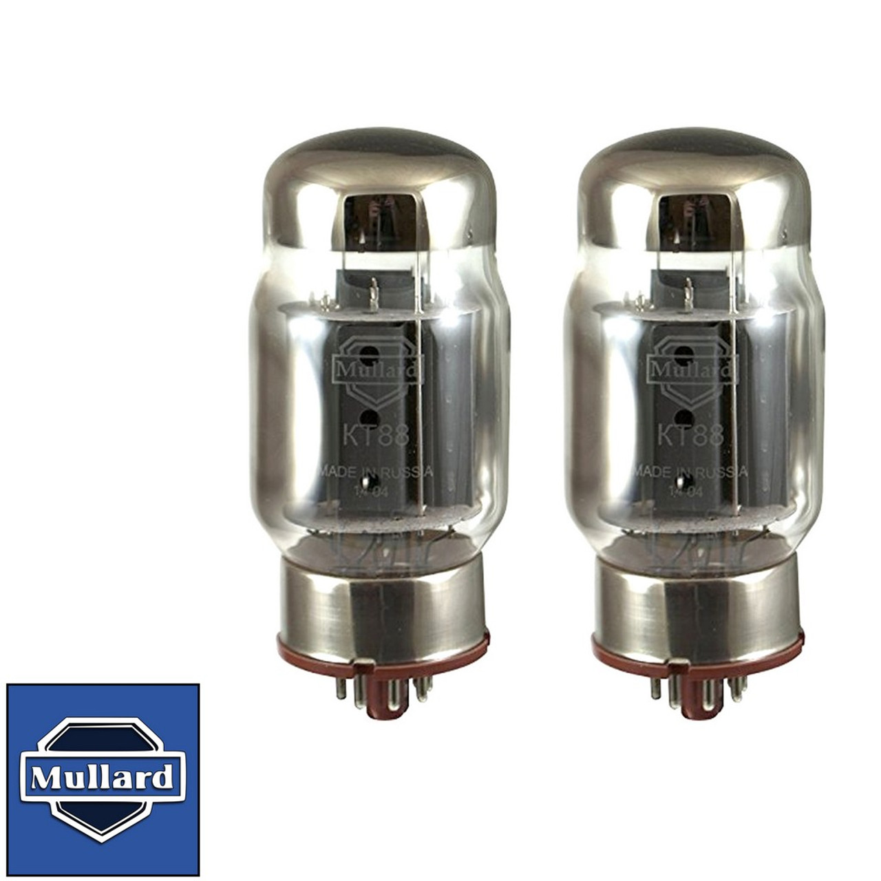 New Plate Current Matched Pair 2 Tung-Sol Reissue 6550 KT88 Coke Bottle Tubes