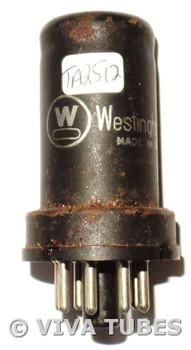 RCA USA 6SC7 Metal Rust Vacuum Tube 93/78%