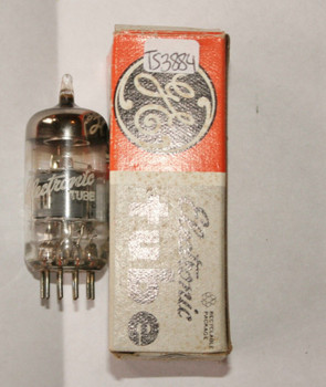 GE USA 6GH8A Gray Plate Top O GTR Vacuum Tube 6GH8 50%