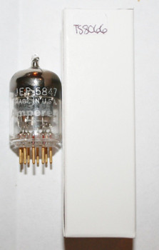 NOS Amperex USA JEP-5847 [WE 404A] Gray Plate D Get Gold Pins Vacuum Tube 100%+