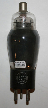 NOS RCA USA 38 [138A] Black Plate D Foil Getter Tube Type 38 100%+