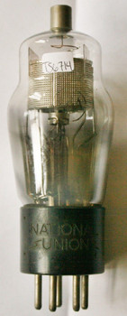 NOS National Union NU USA Type # 24A ENGRAVED, ST Vacuum Tube 100%+