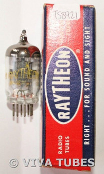 NOS NIB Raytheon USA 9003 [VT-203] Black Plate Top Get 3 Mica Vacuum Tube