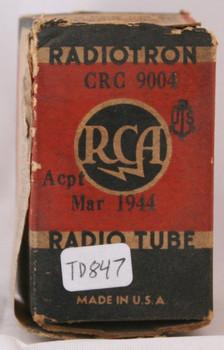 NIB RCA USA CRC-9004 Vacuum Tube