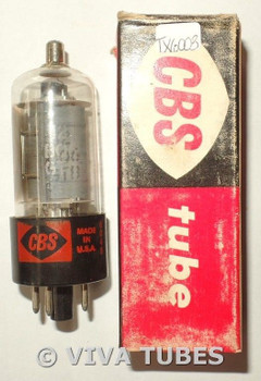 NOS NIB CBS-Hytron USA 12BQ6GTB / 12CU6 Gray Plate Side [] Get Vacuum Tube