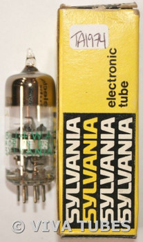 NOS NIB Sylvania USA JAN-6J4WA Silver Plate Top O Get Vacuum Tube 100+%