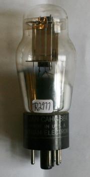 NOS Chatham USA JAN-CAHG-884 Silver Plate Vacuum Tube Tube 100%+
