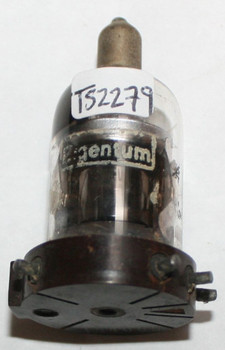 Eigentum USA 716 Black Plate Top [] Foil Getter Vacuum Tube 716A