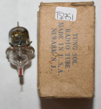 NIB NOS Tung-Sol (Vintage) USA 956 Black Plate Top [] Foil Getter Acorn Tube