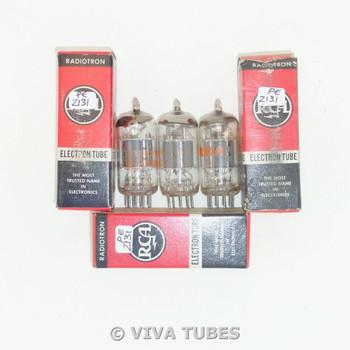 NOS NIB Matched Trio (3) Amperex Holland 6JW8/ECF802 Grey Plate Vacuum Tubes