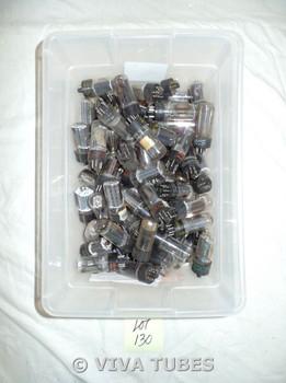 Mixed lot of 70 Loose Vacuum Tubes. Untested Mixed Type 6AU4, 6AU5, 19AU4