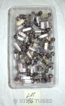 Mixed lot of 120+ Loose Vacuum Tubes Mostly 6BN6 + 4BN6, 6AN8, 6BN4