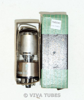 NOS NIB NU National Union USA 6SS7GT Silver Plate Top [] Get Vacuum Tube 100+%
