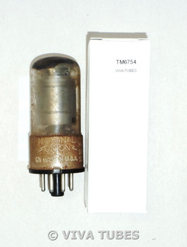 National Union NU USA 6SK7GT 2 Gray Plate Top [] Get Rust Vacuum Tube 82%
