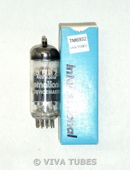 NOS NIB International Servicemaster Japan 8CG7/8FQ7 Gray Plate Vacuum Tube