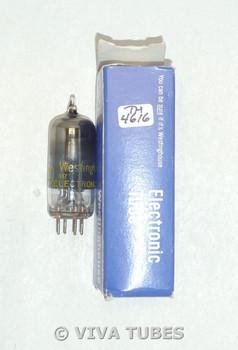 NOS NIB Westinghouse USA 12BZ6 Black Plate Top O Get Smoked Glass Vacuum Tube