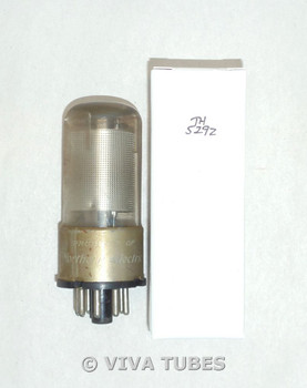 NOS Nothern Electric Canada 12SK7GT Silver Mesh Plate Top [] Get Vacuum Tube