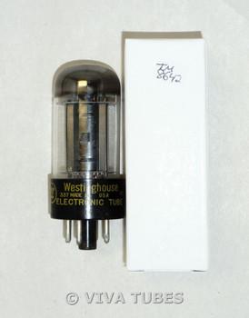 NOS Westinghouse USA 12V6GT Black Plate Top O Get Vacuum Tube 100+%