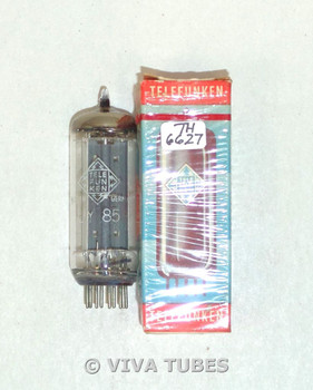 NOS NIB Telefunken Germany 38A3 [UY85] Grey Plate Top O Get Vacuum Tube 100+%