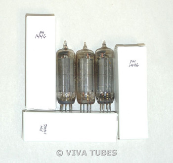 NOS Matched Trio (3) GE USA 50C5 [HL92] Chrome Plate [] Get Vacuum Tubes