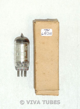 Mullard Britain CV286/95A1 Silver Plate Voltage Regulator Vacuum Tube