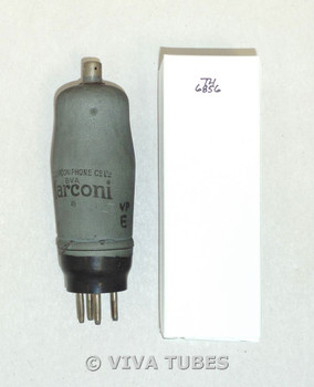 Marconi England VMS4/B [E445] Lead Shield Coating Vacuum Tube