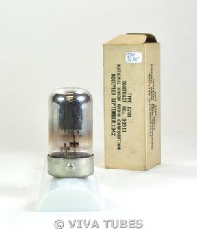 NOS NIB NU USA 1201 [7E5] Top D Foil Get Vacuum Tube 100+%