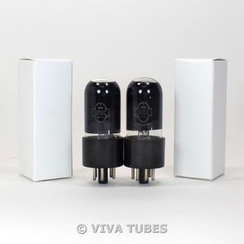 NOS Ip Matched Pair Soviet Era 6P6S = 6V6GT Vacuum Tubes
