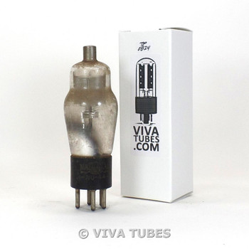 Tests NOS NU National Union USA Type NU-44 [=39] Mesh Plate ENGRAVED Vacuum Tube