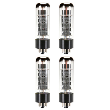 New Matched Quad (4) Reissue Mullard EL34 / 6CA7 Vacuum Tubes
