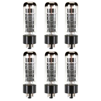 New Matched Sextet (6) Reissue Mullard EL34 / 6CA7 Vacuum Tubes