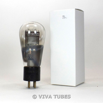 TESTS LOW/BAD RCA Cunningham USA CX-310 [Type 10] Carbonized Globe Vacuum Tube