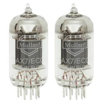 New Matched Pair (2) Mullard Reissue 12AX7 Vacuum Tubes