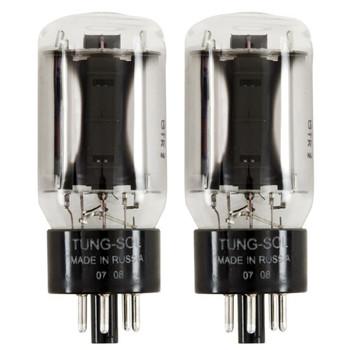 New Matched Pair (2) Tung-Sol 6L6GC STR Reissue Vacuum Tubes