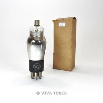 True NOS NIB RCA USA 2B7 Mesh Plate D Foil Get Vacuum Tube 100%+