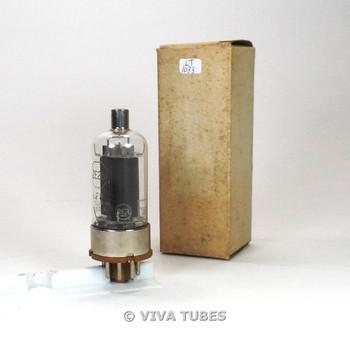 True NOS NIB RCA USA JAN-CRC-2E26 Black Smooth Plate BTM Get Vacuum Tube 100%+