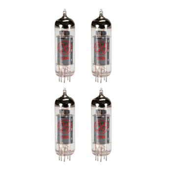 New Matched Quad (4) JJ EL84 / 6BQ5 Vacuum Tubes