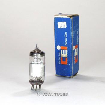True NOS NIB Amperex France EF91=6AM6 Plate Top O Get Vacuum Tube 100+%