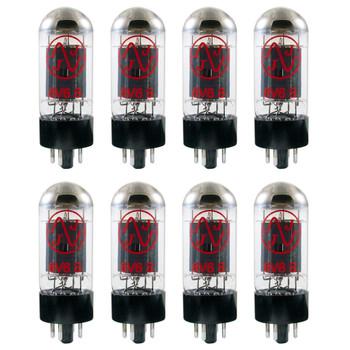 New Matched Octet (8) JJ 6V6 Vacuum Tubes