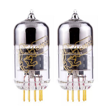 New Matched Pair (2) Genalex Gold Lion 6922 / E88CC Gold Pin Reissue Vacuum Tubes