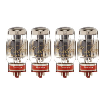 New Matched Quad (4) Genalex Gold Lion KT88 Reissue  Vacuum Tubes