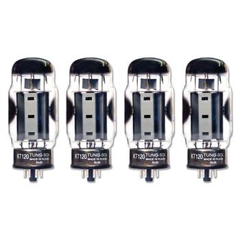 New Matched Quad (4) Tung-Sol KT120 Vacuum Tubes