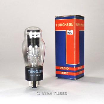 True NOS NIB Tung-Sol USA 2A4G Black Plate Bottom D Foil Get Vacuum Tube 100%+