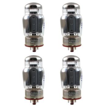 New Matched Quad (4) Tung-Sol 6550 Coke Bottle Reissue Vacuum Tubes