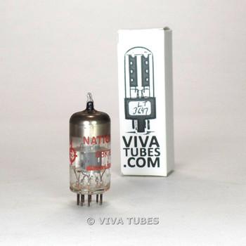 Tests NOS Valvo E Germany 6BK7B Grey Plate Top O Get Vacuum Tube 100+%