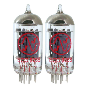 New Matched Pair (2) JJ ECC803S High Gain Vacuum Tubes